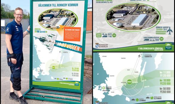 Infografik Ronneby Kommun